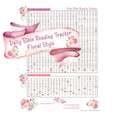 Daily Bible Reading Tracker