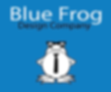 Blue Frog Design Company Logo