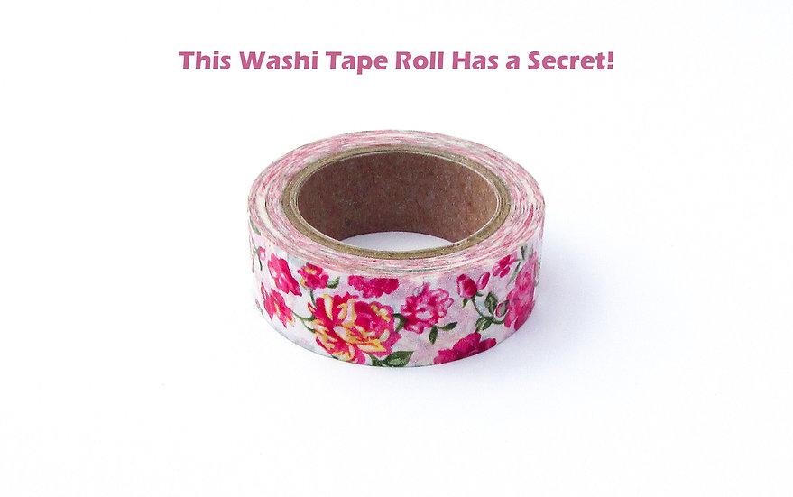 Washi Tape Secret Note Tutorial & Template