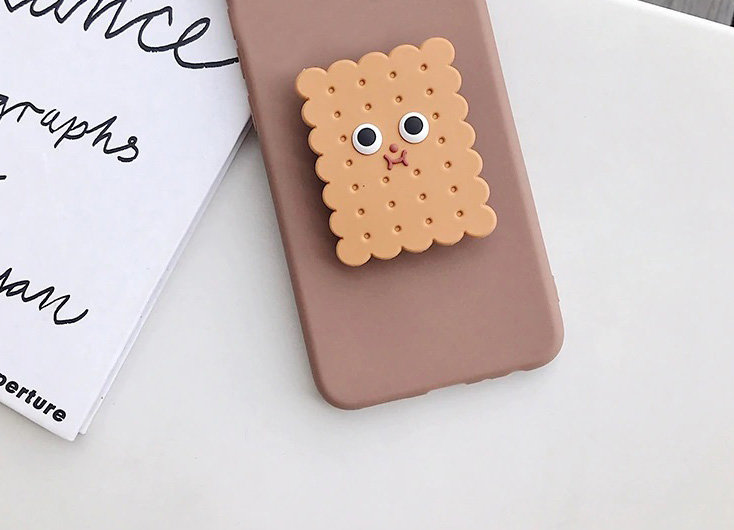 Kawaii Cookie iPhone 12 Case, iPhone 12 Pro Case
