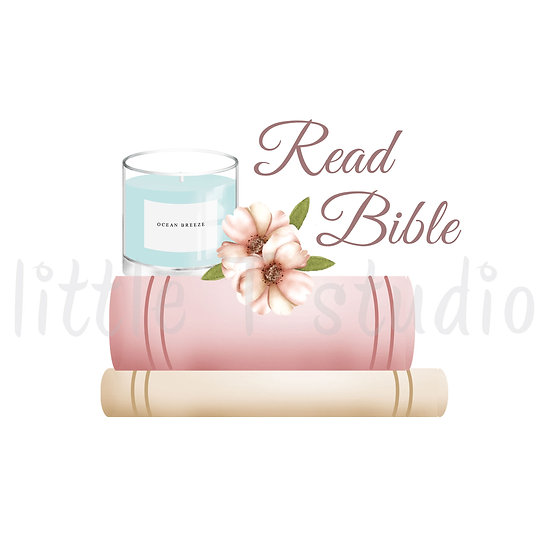 Cozy Home Read Bible Stickers - Style 1118 or 310M
