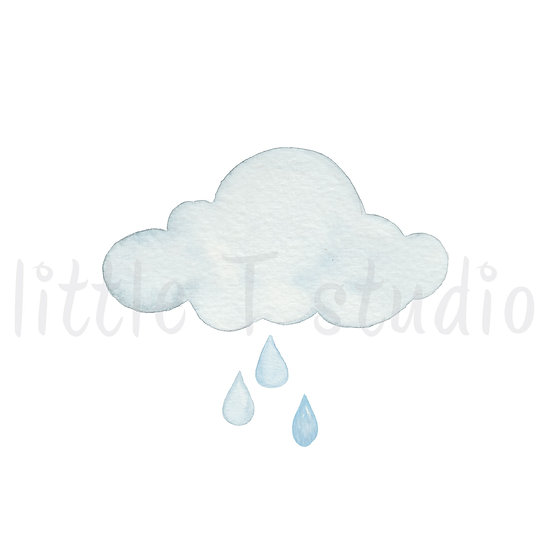 Rain Shower Stickers - Style 459M or 475M