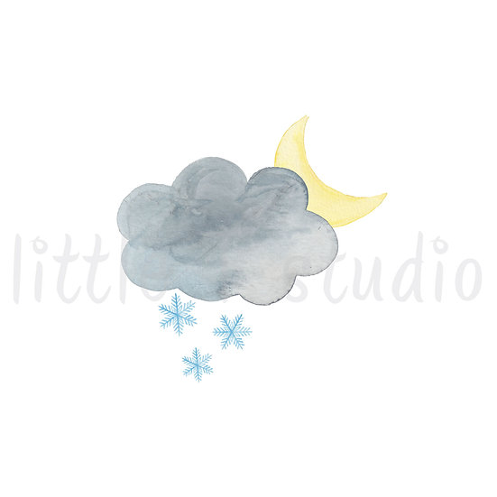 Overnight Snow Stickers - Style 466M or 482M