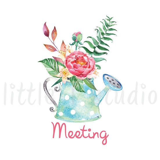 Meeting Stickers Spring Butterfly - Style 657