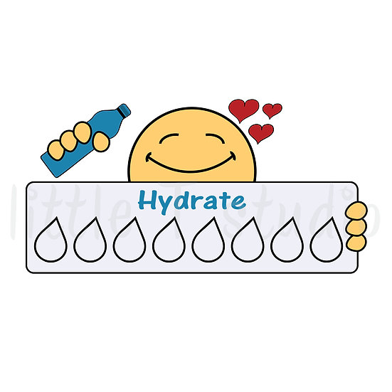 Joys of Life Hydrate Tracker Stickers - Style 561