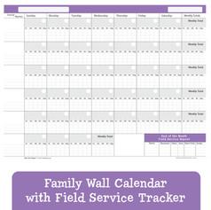 Family Wall Calendar