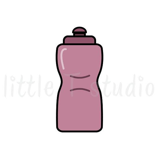 Water Bottle - Mini Size Stickers - Style 178M