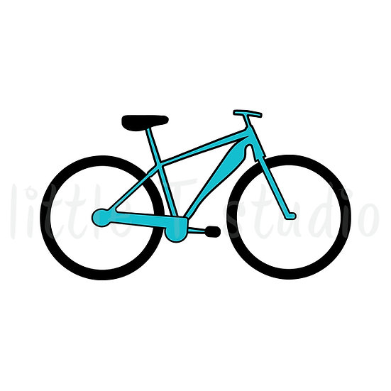 Bicycle Mini Size Icon Stickers - Style 135M