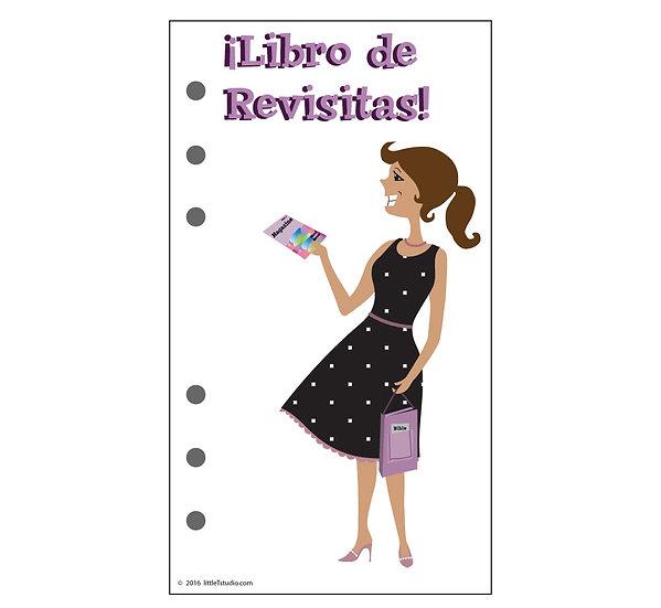 Personal Size Libro de Revisitas Refill Sheets - Printable PDF