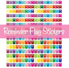 Reminder Flag Stickers