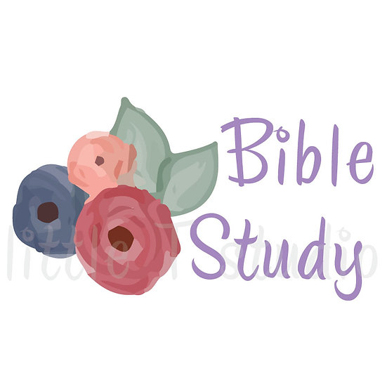 Bible Study Floral Stickers - Style 1005