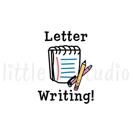 Letter Writing Reminder Mini Size Stickers - 331M