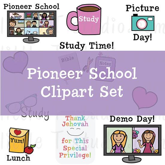 Pioneer School Variety Pack JW Digital Clipart