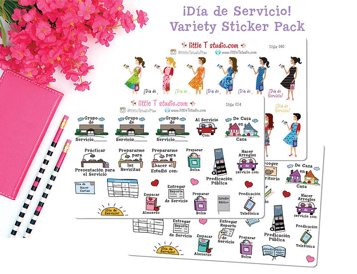 Servicio Starter Pack in Spanish - Styles 054, 059, 060