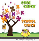 Cool Chick School Chick Childrens Book