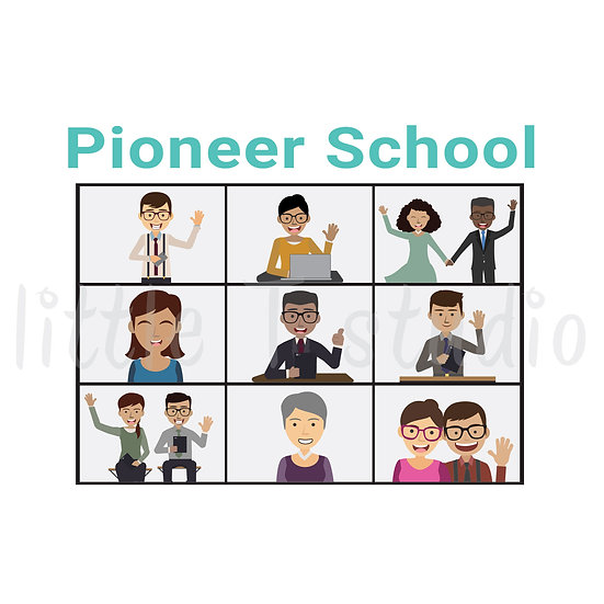 Pioneer School Stickers - Style 1139 or 333M