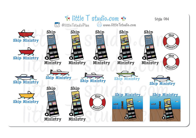 Ship Ministry - Style 084