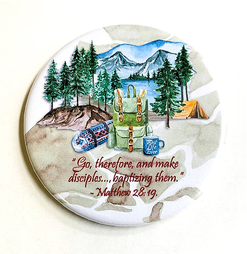 Magnet - Go Therefore... Camping Theme