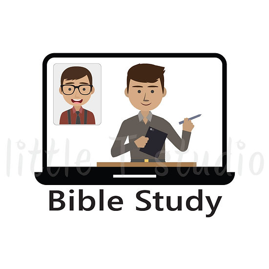 Bible Study Stickers - Brother - Style 1030
