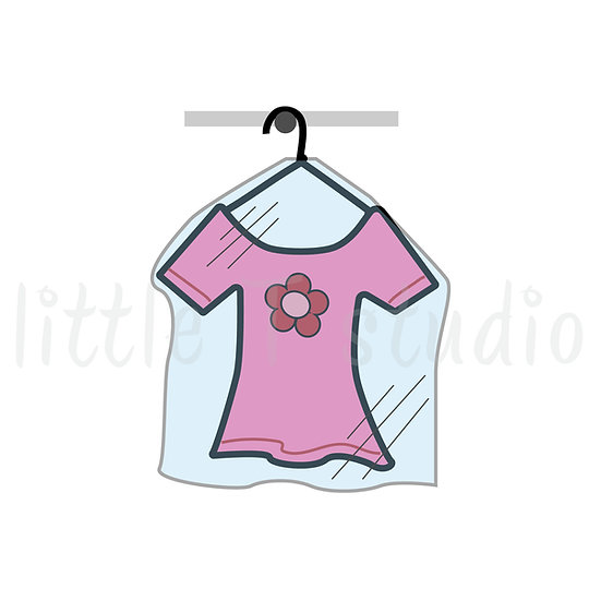 Dry Cleaning Reminder Mini Stickers - Style 030M