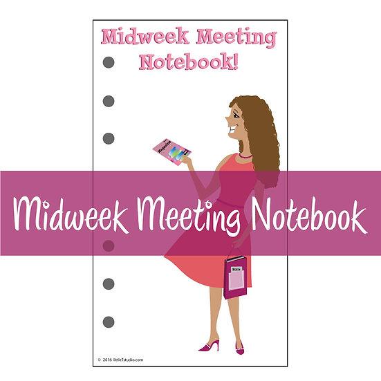 Medium Size Print-Ready Midweek Meeting Notebook Sheets