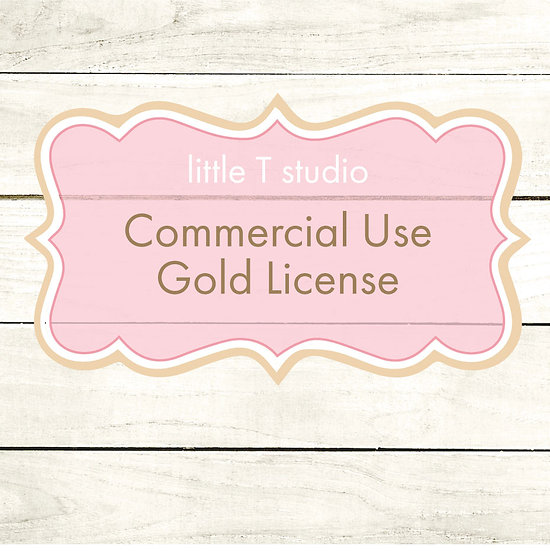 Gold Commercial License - Single Use