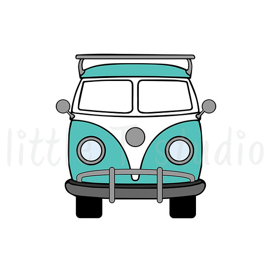 Fun Travel Van Mini Stickers - Style 044M