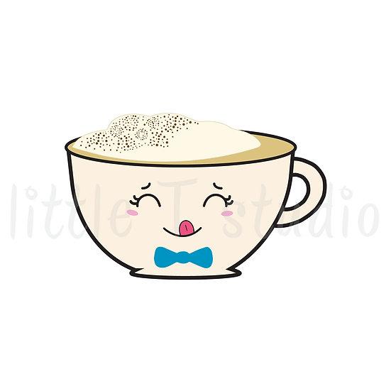 Kawaii Stickers - Coffee Time! - Style 023-K