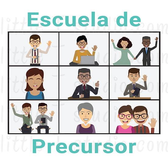 Escuela de Precursor JW Digital Clipart in Spanish