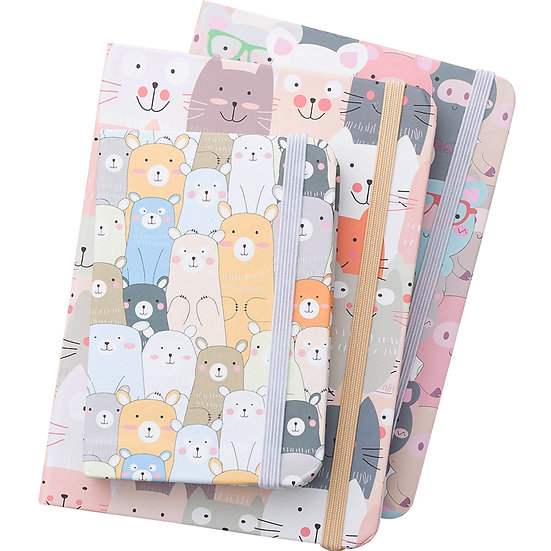It's a Party! - Animal Hardcover Notebook - 3 Sizes to Choose From!