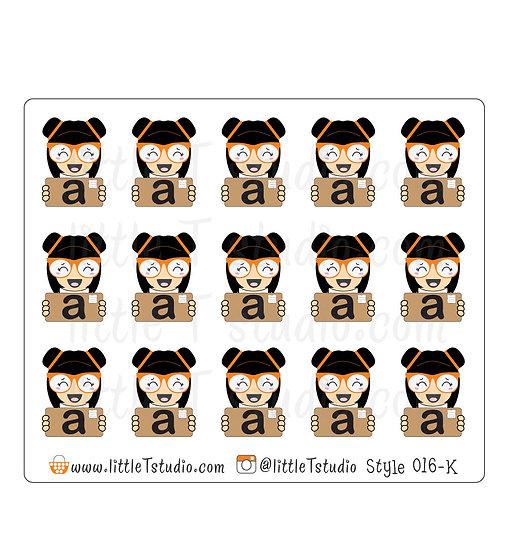 Kawaii Stickers - Amazon Package - Style 016-K