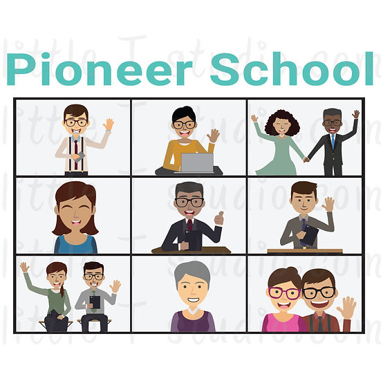 Pioneer School JW Digital Clipart