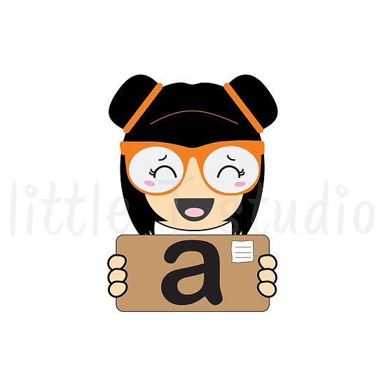 Kawaii Stickers - Amazon Package - Happy Mai - Style 016-K