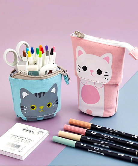 Adorable Animal Standing Convertible Pop-up Case