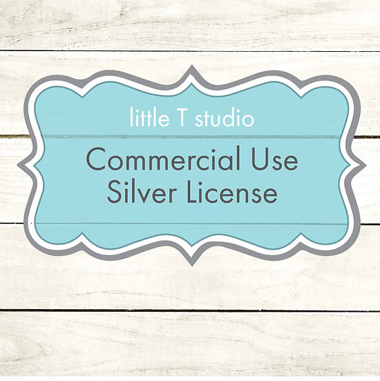 Commercial Single Use Silver License