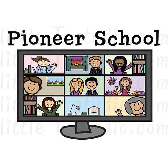 Pioneer School JW Digital Clipart