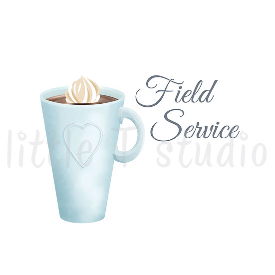 Cozy Home Field Service Stickers - Style 1121 or 313M