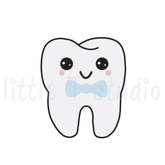 Kawaii Stickers - Boy Dentist Appointment - Style 027-K