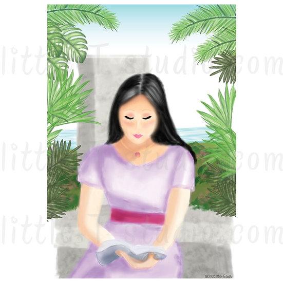 Read & Reflect Digital Clipart