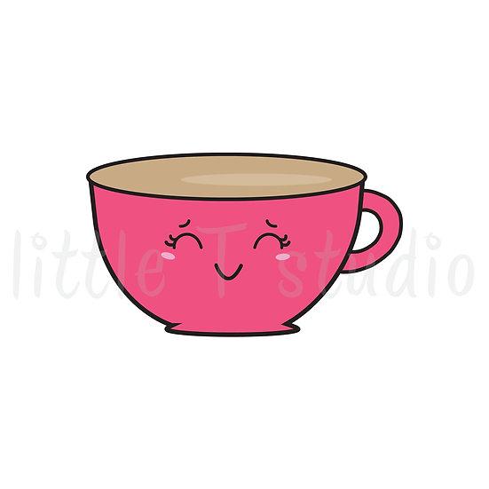 Kawaii Stickers - Tea or Coffee Time! - Style 024-K
