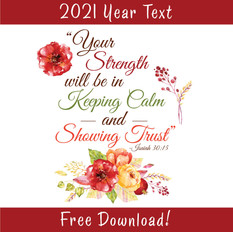 2021 Year Text