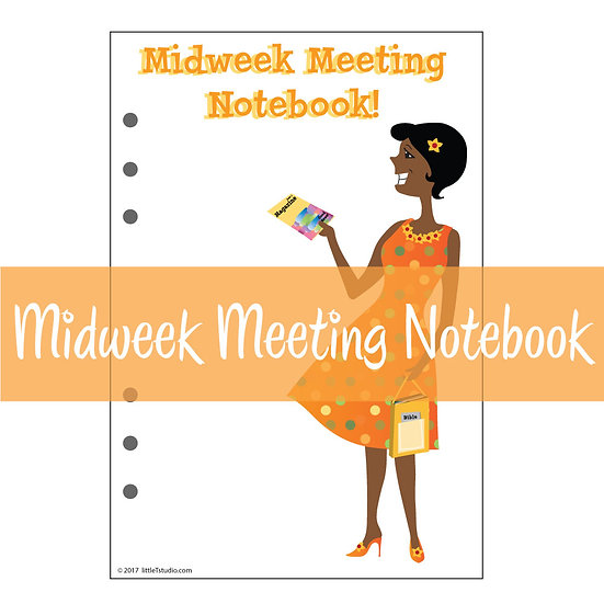 Large Size Print-Ready Midweek Meeting Notebook Sheets