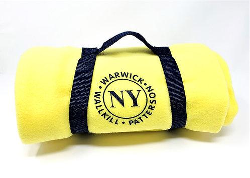 New York Travel Blanket