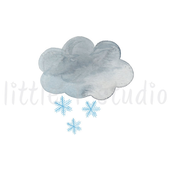 Snow Stickers - Style 460M or 476M