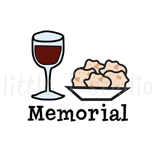 2021 Memorial Stickers - Style 699 or 158M
