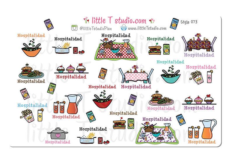 Hospitalidad Reminder Spanish Variety Pack - Style 073