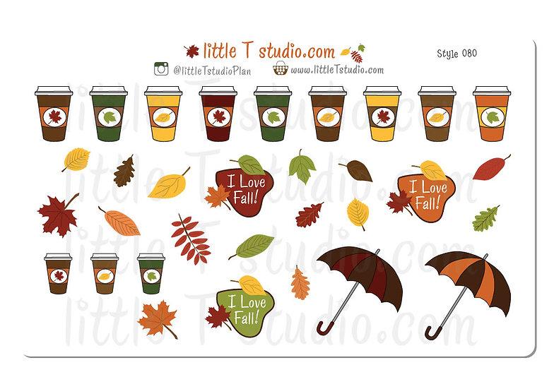 I Love Fall! - Style 080
