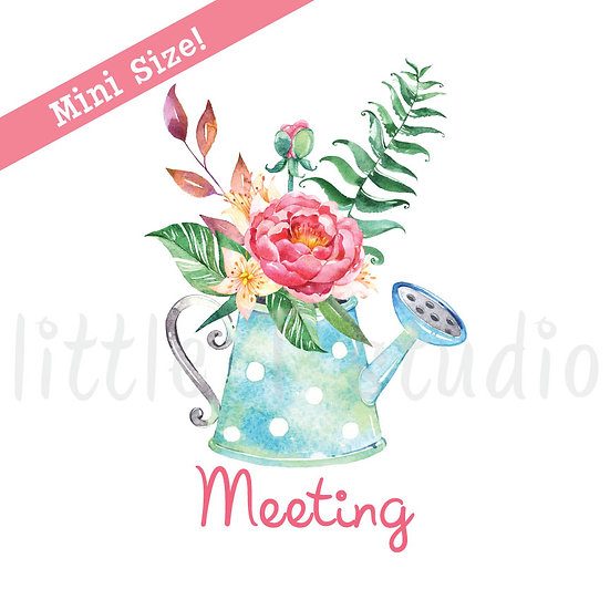Meeting Stickers Spring Butterfly Mini Size Reminder Stickers - Style 155M