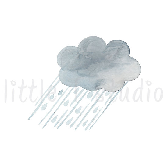 Heavy Rain Stickers - Style 461M or 477M