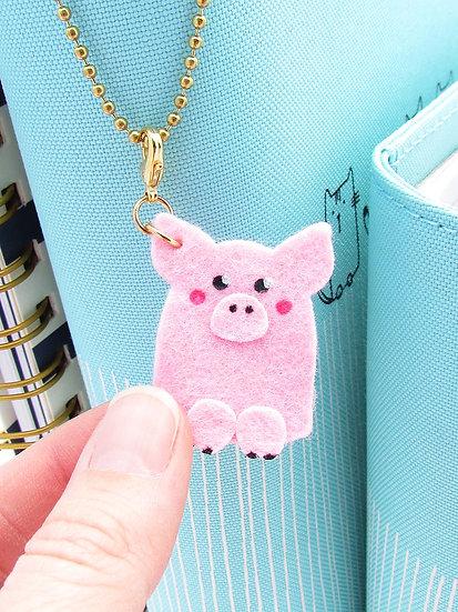 This Little Piggy Dangle Clip